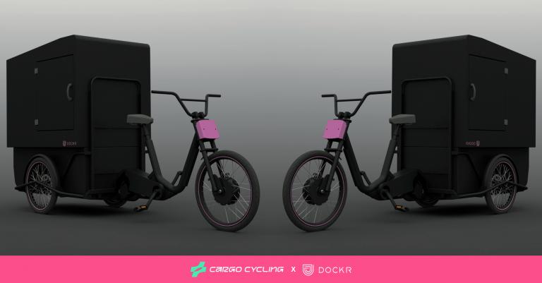 Even voorstellen: de DOCKR Cargo Cycling Convy & Chariot.